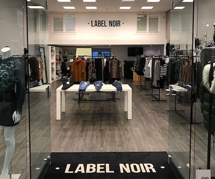 Label Noir Showroom